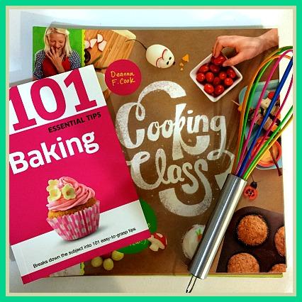 Kids Cookbook Gift Set