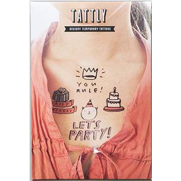 Tattly Temporary Tatto Set