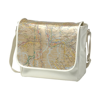 Map Messenger & Device Bags
