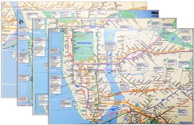 Real Map Placemats (Pack of 4)