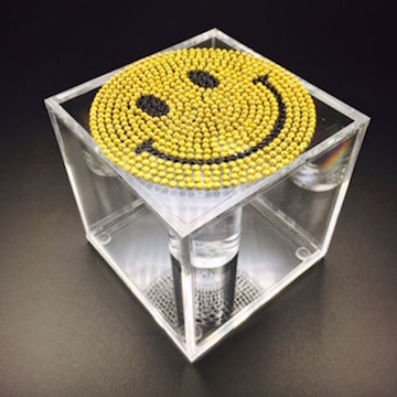 Emoji smiley face bracelet box