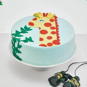 diy 1 year old giraffe cake kit cakest