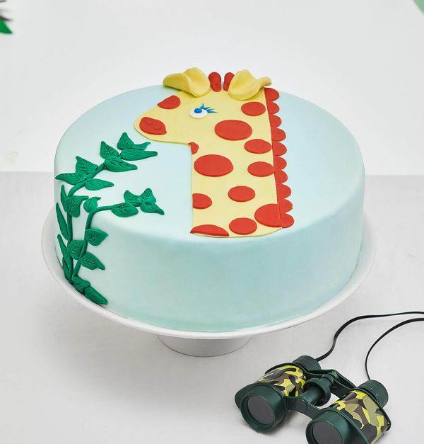 diy 1 year old giraffe cake kit cakest