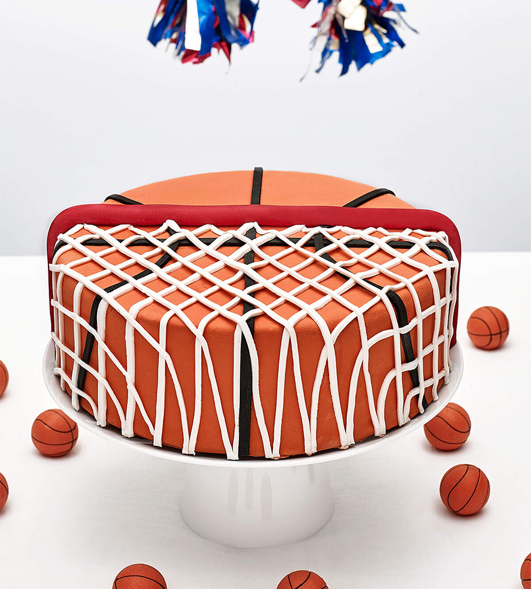 diy basketball cake kit cakest