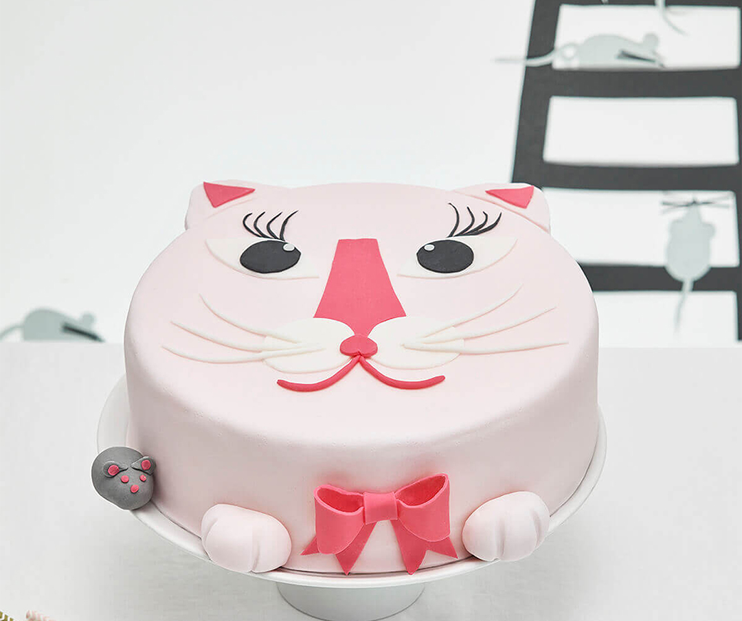 diy kitty cat cake kit cakest