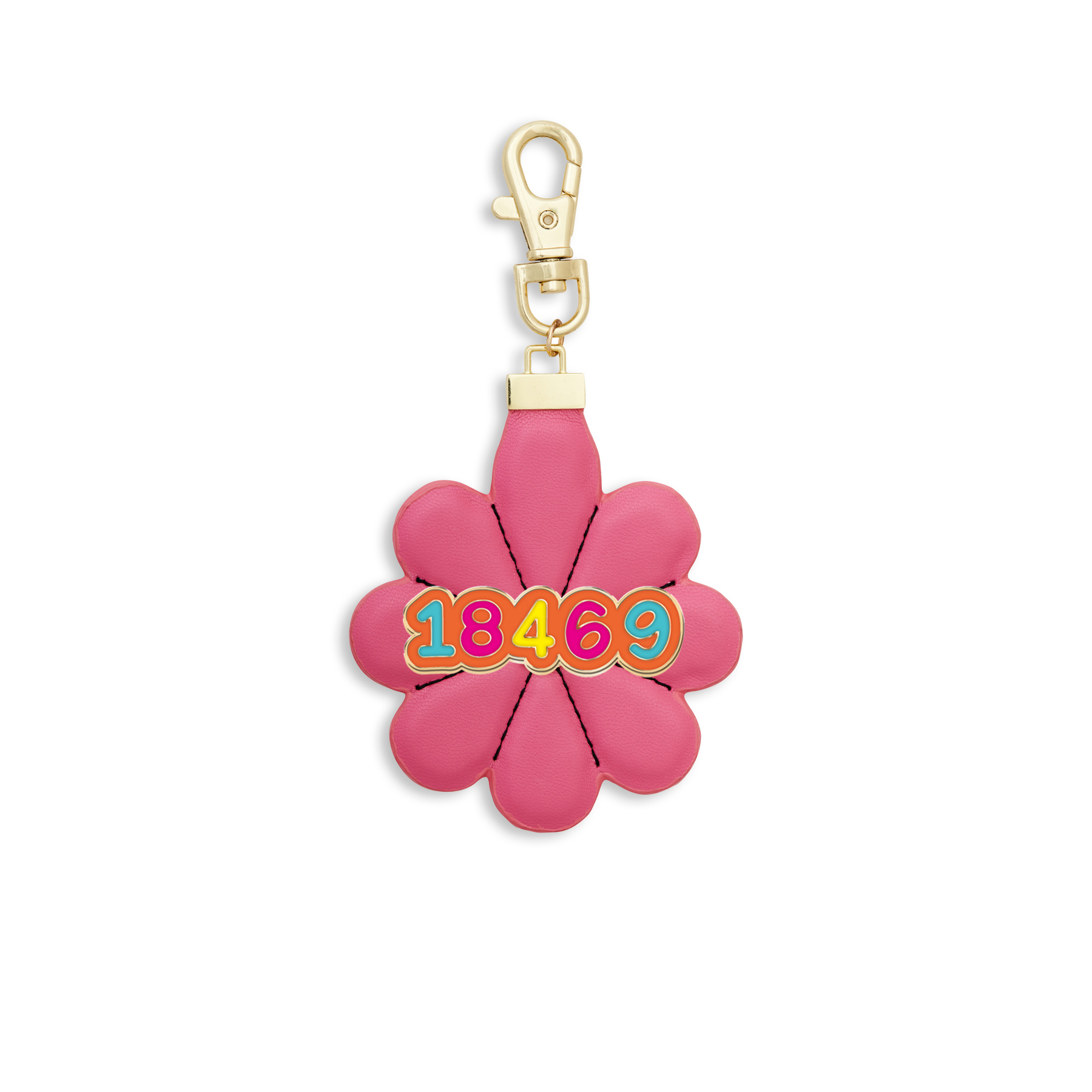 Camp Pride-Flower Power Bag Charm