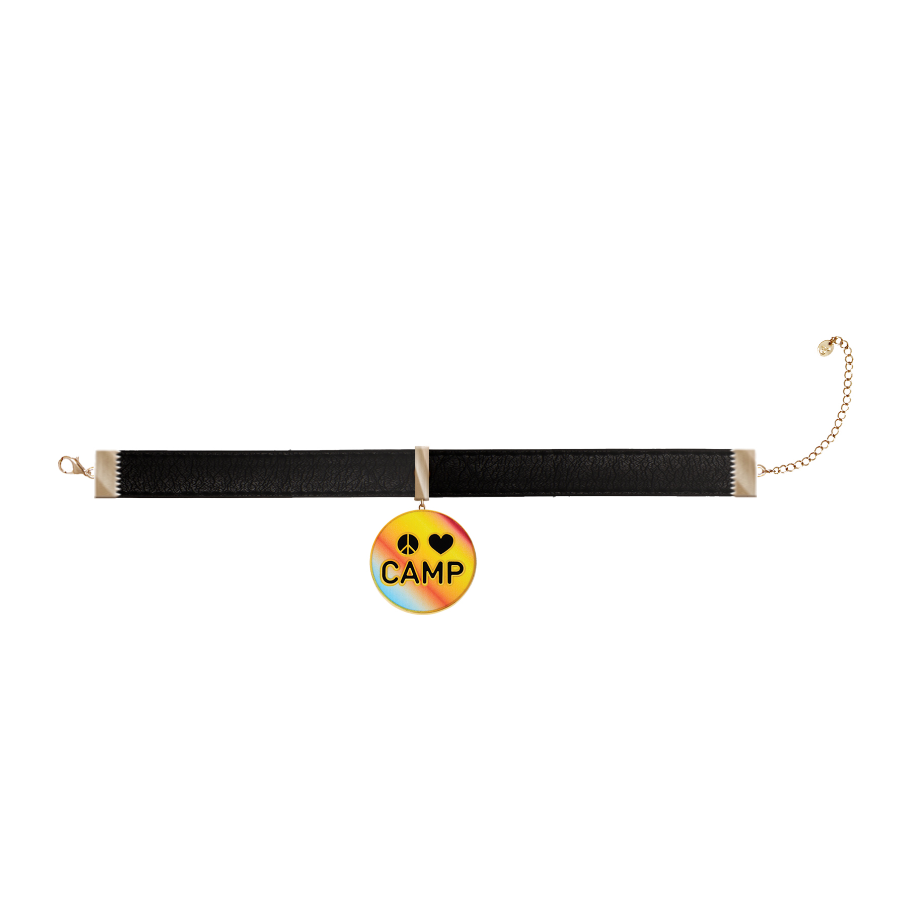 Peace Love Camp Choker