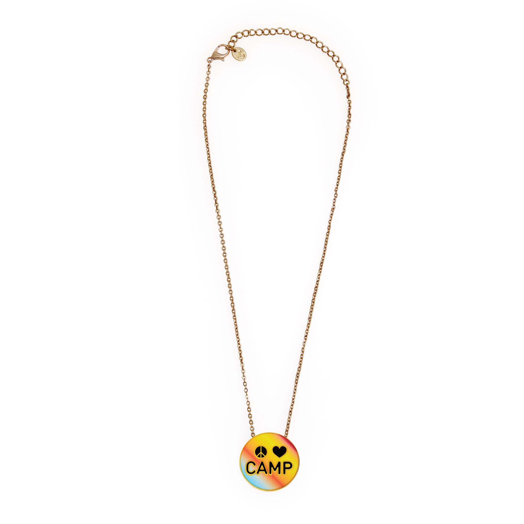 Peace Love Camp Necklace