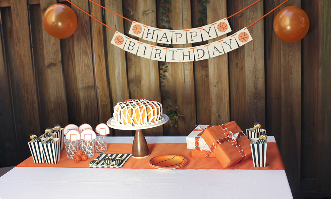 Awe Inspiring How To Throw The Best Basketball Themed Bday Party For Your Funny Birthday Cards Online Benoljebrpdamsfinfo