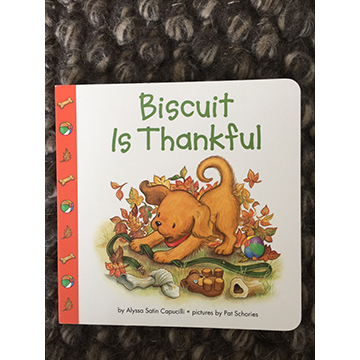 Biscuit is Thankful (signed copy)