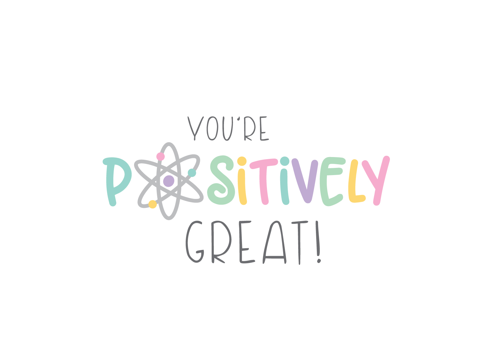 Positively Great Note Cards