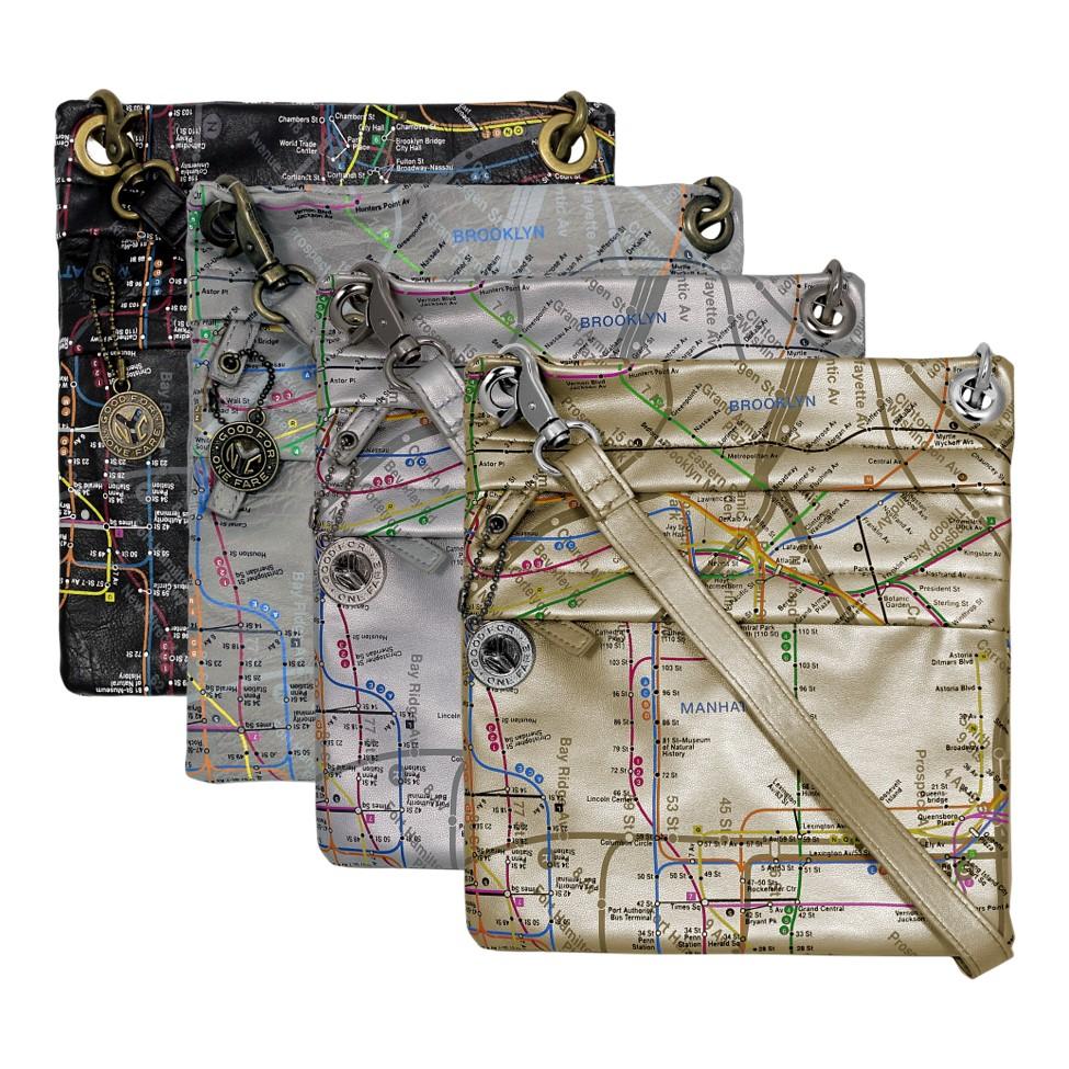 Crossbody Map Bag